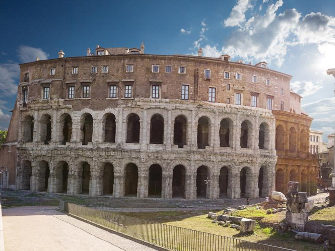 Theatre of Marcellus - Rome, Italy