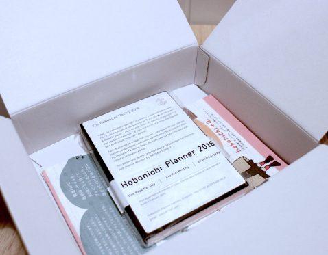 Boxed Hobonichi