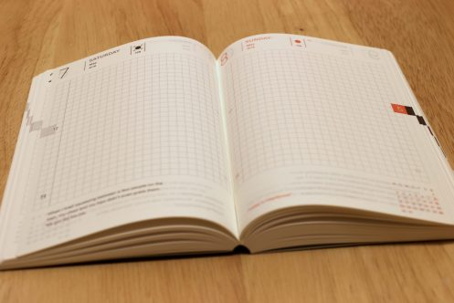 Hobonichi Techno A6 - Day view