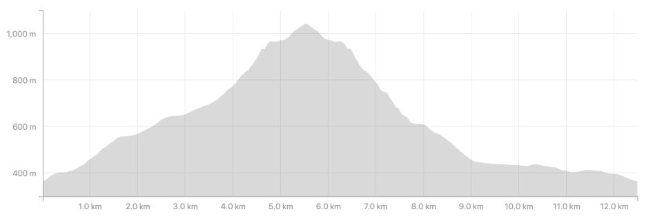 Snowdon Profile