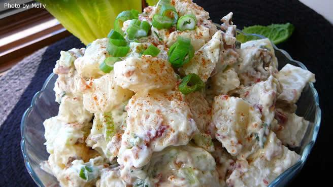 Paleo Lela's Fourth of July Potato Salad