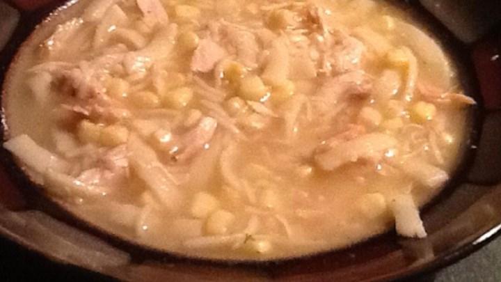 Paleo Short-Cut PA Dutch Chicken Corn Soup