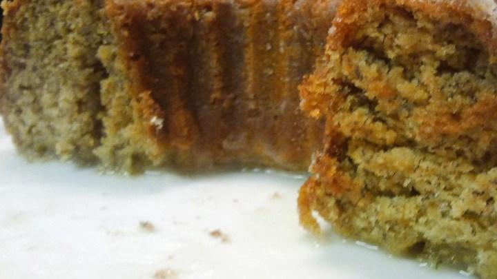 Paleo Maui Banana Cream Tube Cake
