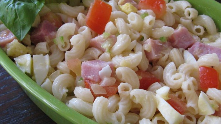 Paleo Macaroni, Pineapple, and Ham Salad