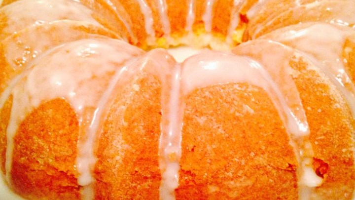 Paleo Mom's Apricot Nectar Cake