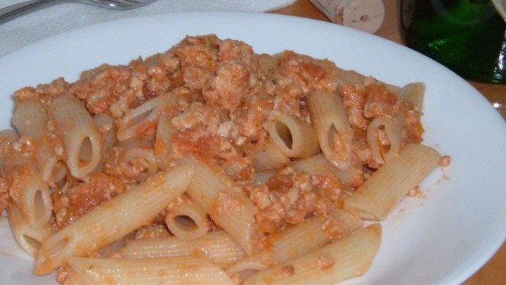 Paleo Turkey Ragu with Fontina and Parmesan