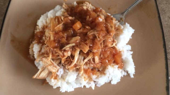 Paleo Chicken Delirious and Buttered Rice (for Pressure Cooker)
