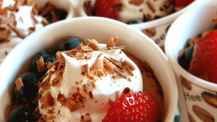 Paleo Chef John's Dark Chocolate Mousse