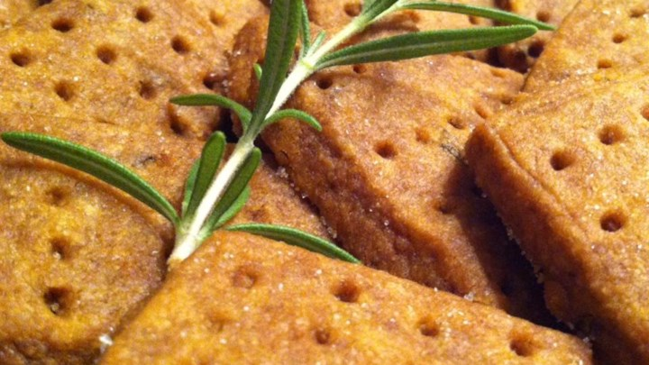 Paleo Chef John's Rosemary Shortbread Cookies