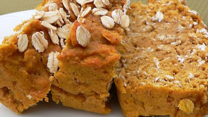 Paleo Pumpkin Oat Bread