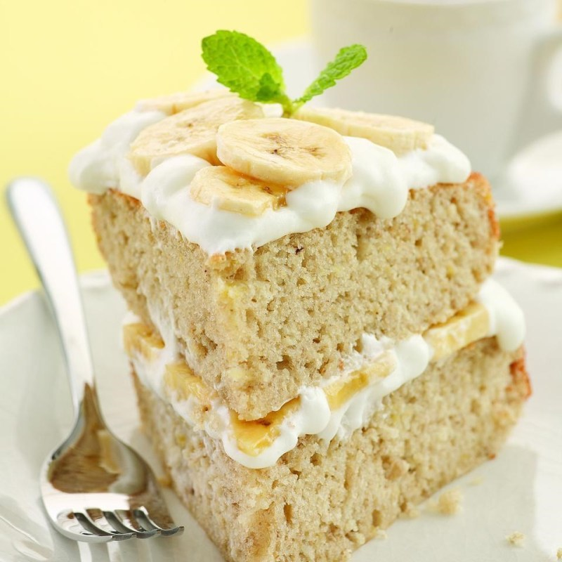 Large Of Banana Cream Cake