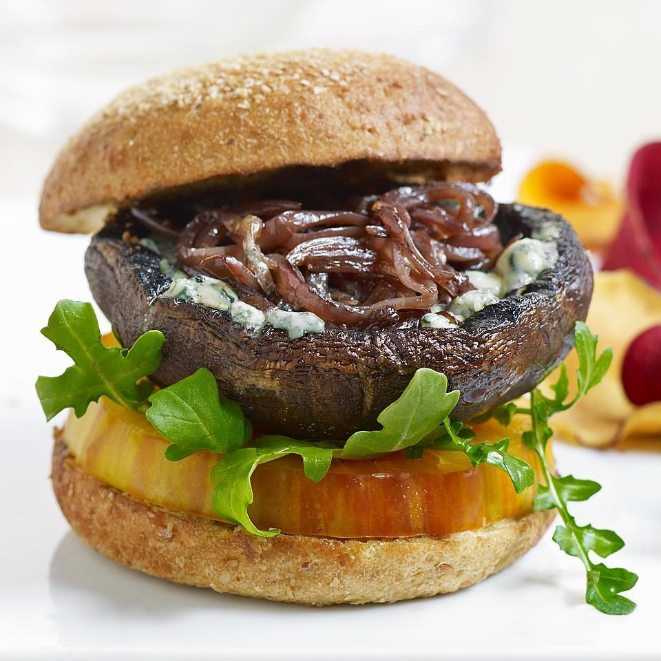 Appealing Blue Cheese Portobello Burgers Blue Cheese Portobello Burgers Recipe Eatingwell Blue Cheese Recipes Buzzfeed Blue Cheese Recipes Vegetarian nice food Blue Cheese Recipes