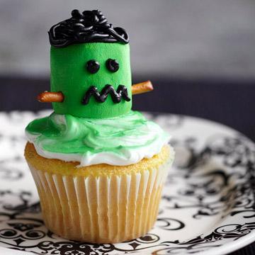 Frightening Frankenstein Cupcake