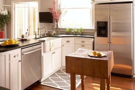 small space kitchen island ideas bhg.com
