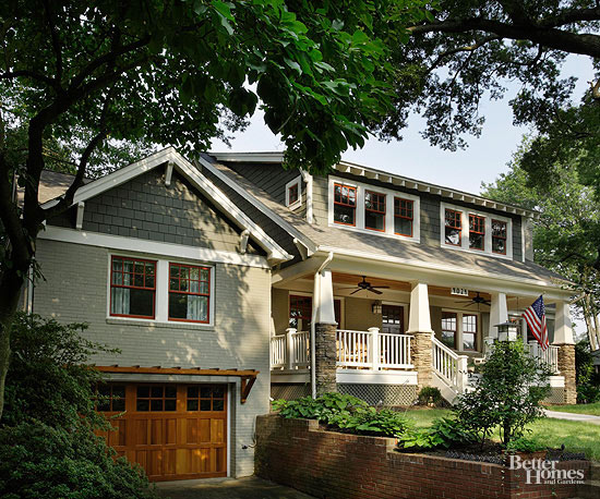 Craftsman House With Garage : In search of character craftsman style