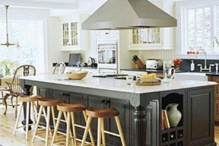 large kitchen island designs