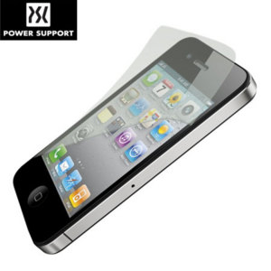 Power Support Anti-Glare Front and Back Film Set - iPhone 4