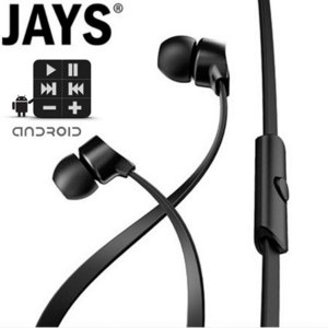 a-Jays One+ Earphones - Black