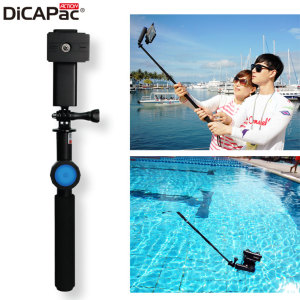 zijn dicapac action floating selfie stick with waterproof bluetooth remote the video side