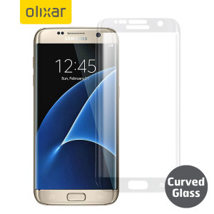 true today olixar samsung galaxy s7 edge curved glass screen protector black 4 out