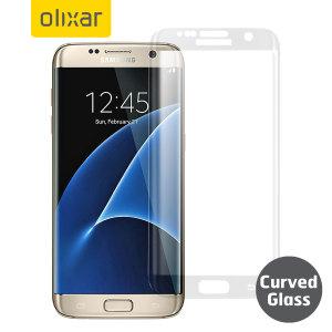 olixar samsung galaxy s7 edge curved glass screen protector black 2