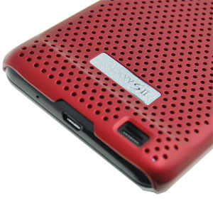 Genuine Samsung Galaxy S2 i9100 Mesh Case - Red