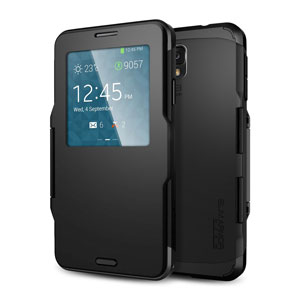 Slim Armor View Case for iPhone 5 - Metal Slate