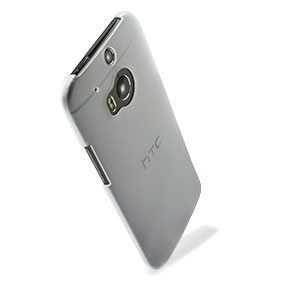 Official HTC One M8 Translucent Hard Shell Case