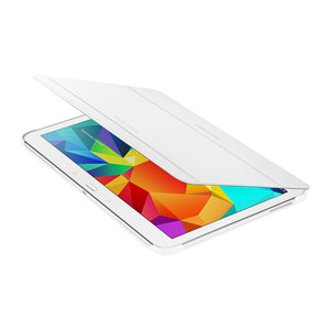 Official Samsung Galaxy Tab 4 10.1 Book Cover - White