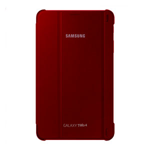 Official Samsung Galaxy Tab 4 8.0 Book Cover - Plum Red