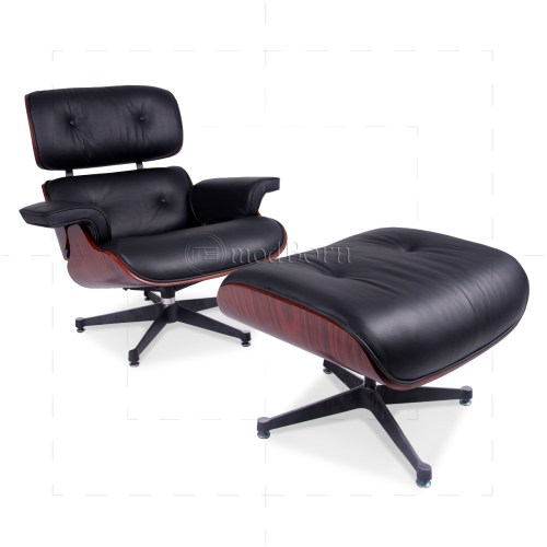 Medium Of Eames Style Chair And Ottoman