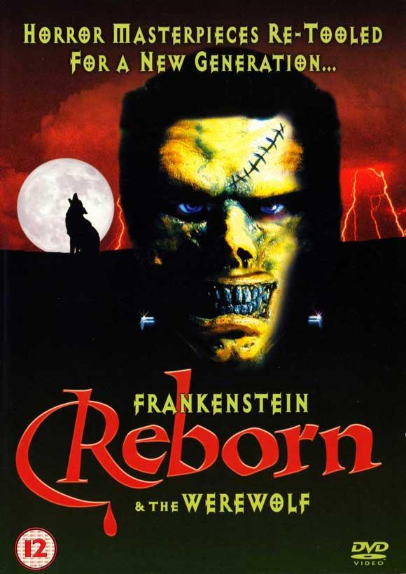 Poster do filme Frankenstein & the Werewolf Reborn!