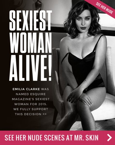 emilia clarke is the sexiest woman alive hot celebs home