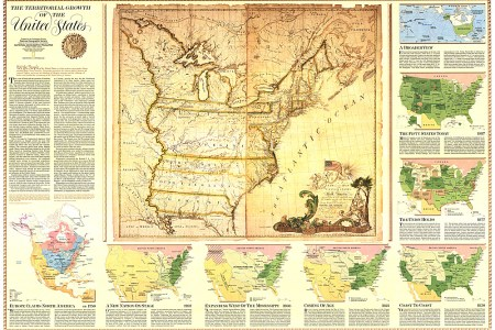 territorial growth of the united states map