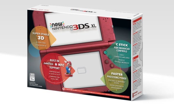 3ds xl red new and sealed in box nintendo 3ds eshop card codes unused