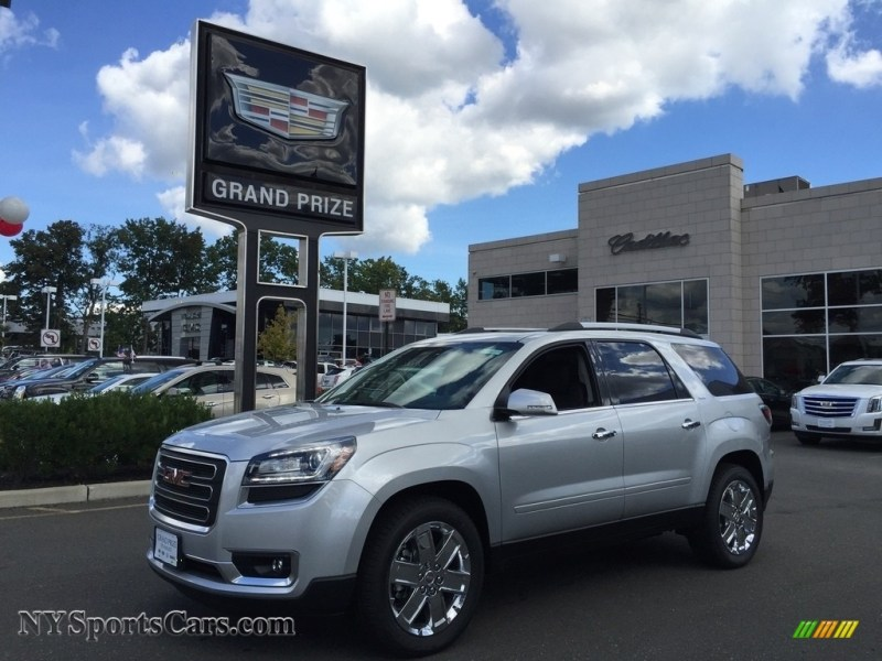 2017 GMC Acadia Limited AWD in Quicksilver Metallic   147503     Quicksilver Metallic   Ebony GMC Acadia Limited AWD