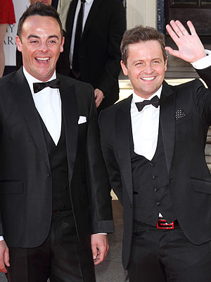 Ant and Dec have been confirmed as the hosts for the BRIT Awards 2015 [Wenn]