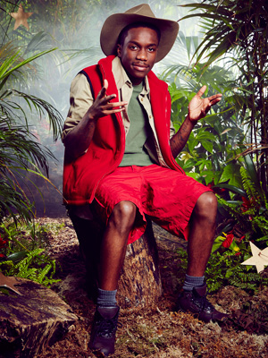 The I'm A Celebrity… Get Me Out Of Here! 2014 contestant's bizarre pose goes viral