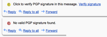 PGP in Gmail