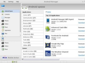 Android Manager WiFi Is a Computer-Based Synchronization and Phone Manager