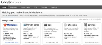 google advisor mortgage Google wants to pick your clients next mortgage for them