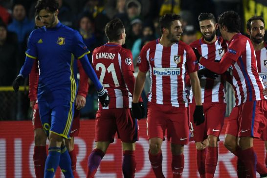بالفيديو : أتلتيكو مدريد يعود بفوز صعب وثمين من الأراضي الروسية في دوري ابطال أوروبا