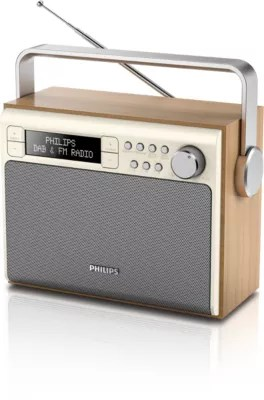 Portable Radio AE5020 05   Philips Great sound from DAB  radio anywhere