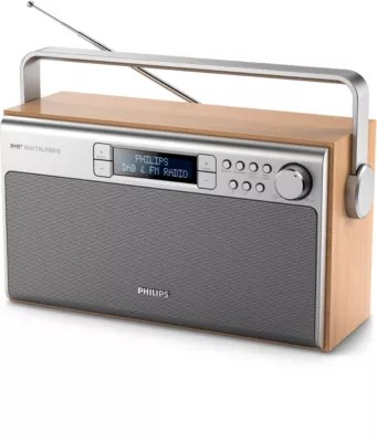 Portable Radio AE5220 05   Philips Great sound from DAB  radio anywhere