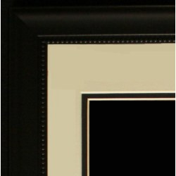 Small Crop Of Black Picture Frames