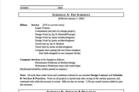 interior design contract template pdf