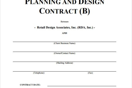 sample interior design contract