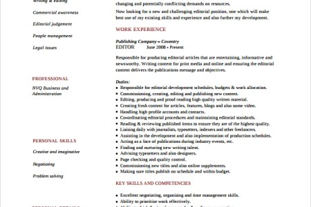 copy editor resume sample how to write a senior copy editor