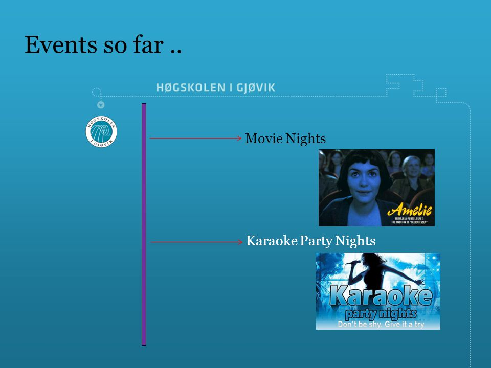 International Students Union Gj    vik University College  ISU GUC     3 Events so far   Movie Nights Karaoke Party Nights