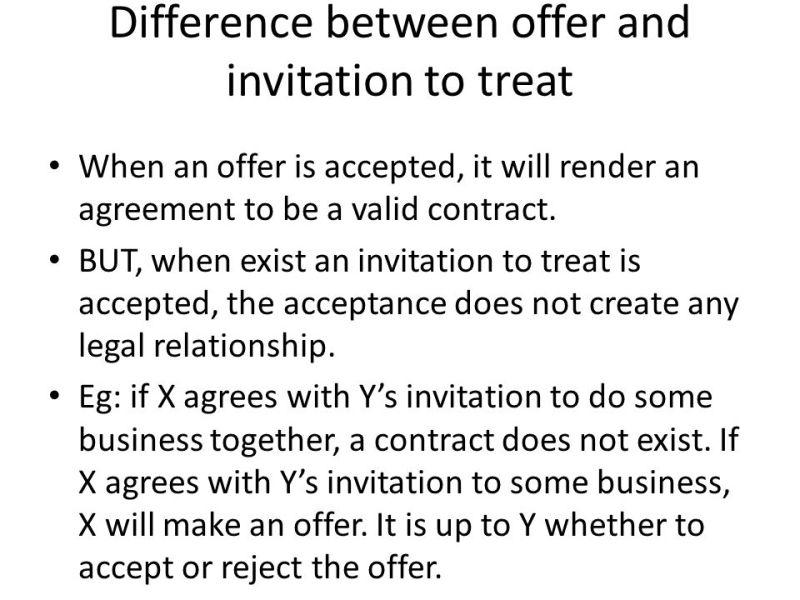 Contract law invitation to treat invitationjdi offer and invitation to treat invitationswedd org stopboris Choice Image